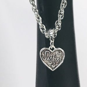 🎁NWT Sister Charm Bracelet Christmas Holiday Gift